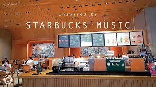 Relaxing Starbucks Inspired Coffee Music - Coffee Shop Music, Cafe Jazz Music, Starbucks Music 2021