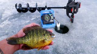 FIRST ICE Panfish | Early Minnesota Ice Fishing 2018
