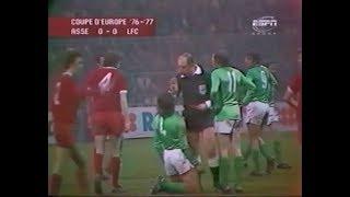 ASSE 1-0 Liverpool - Quart de finale aller de la Coupe d'Europe 1976-1977