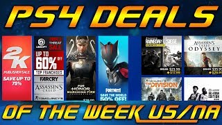 PS4 Deals - 2K Publisher Sale - PS PLUS Discounts & Free add-ons