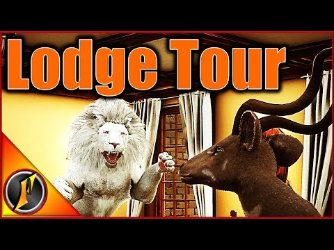 Tour Of My Trophy Lodge :D