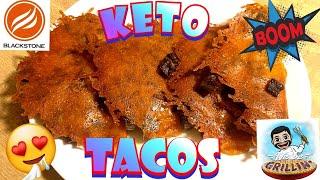 Low carb carne asada tacos - Blackstone Griddle - best tacos de asada