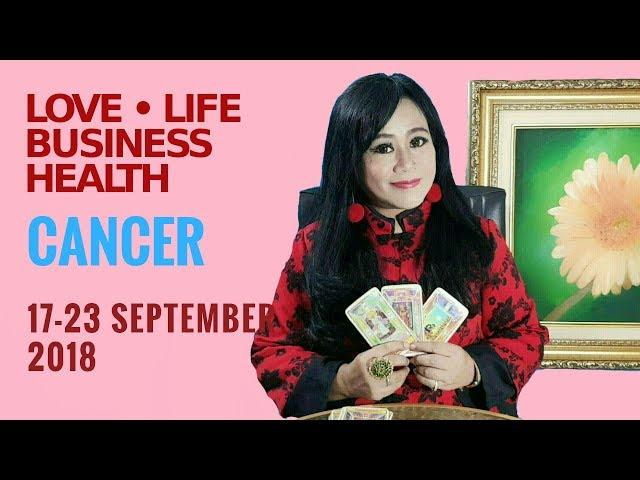 CANCER   |  17 - 23 SEPTEMBER 2018  Endang Tarot (Indonesia) - Minggu 88 Tahun 2018