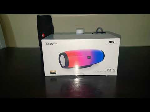 Unboxing and Review of BOLTT Xplode 140. Affordable JBL Pulse for everyone.