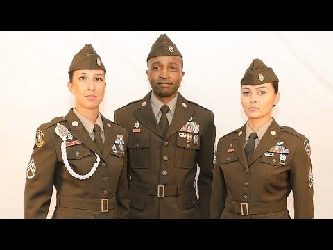 U.S Army Reintroduces Army Green Service Uniforms