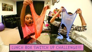 The LUNCH BOX SWITCH UP challenge  Slime