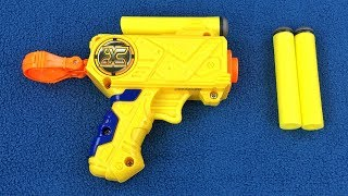 $2 Nerf Gun Clone Review - The ZURU X-Shot Micro Dart Blaster Pistol