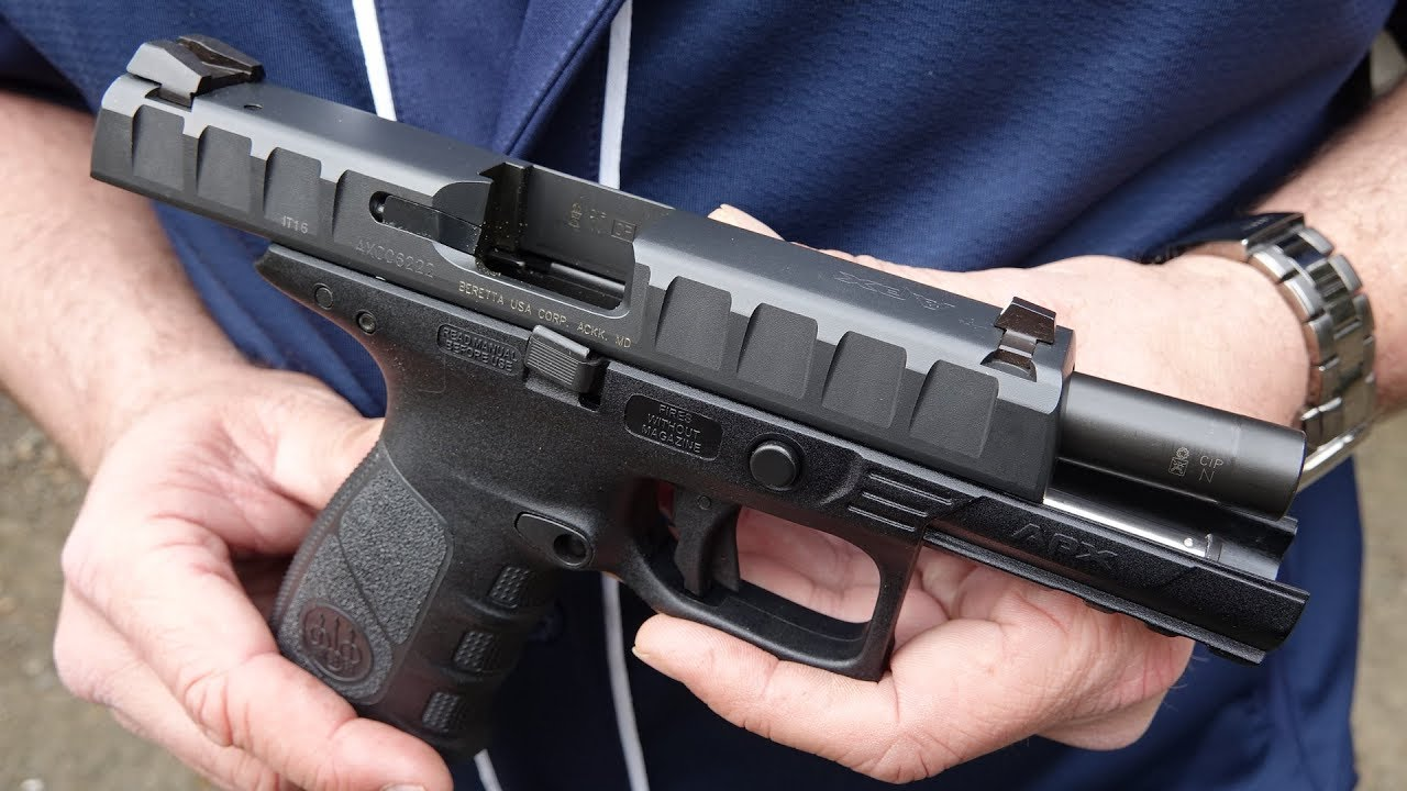 Beretta APX DPM Systems Recoil Reduction System