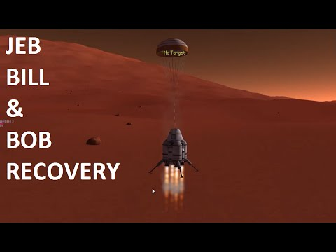 [ITA] Kerbal Italia Space Program #71: Jeb, Bill & Bob recovery