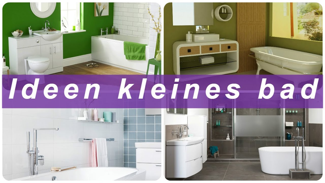 Ideen kleines bad youtube for Ideen badezimmer klein