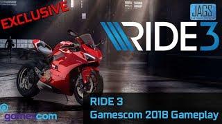 Ride 3 Gameplay | Ride 3 Gamescom 2018 | New Ride 3 Gameplay