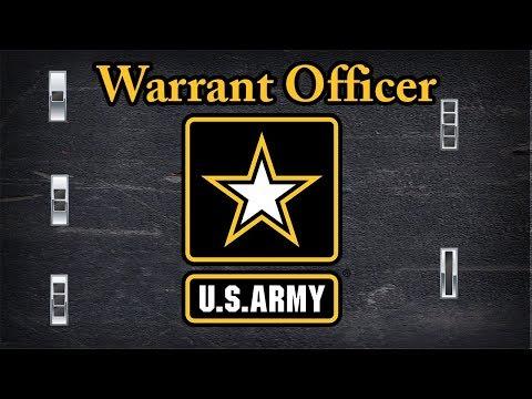 Explaining US Army Warrant Officer rank