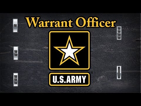 Explaining US Army Warrant Officer Rank