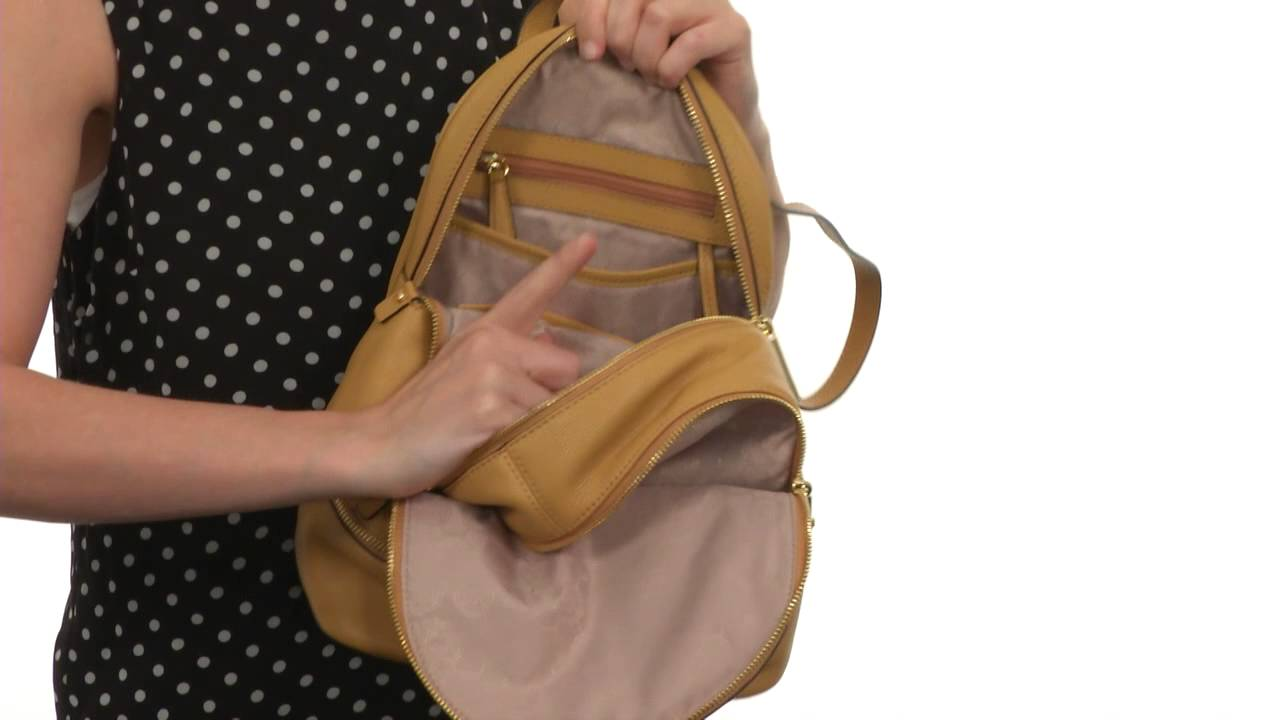 afe04c3ddc9c MICHAEL Michael Kors Rhea Zip Small Backpack SKU:8539823 - YouTube
