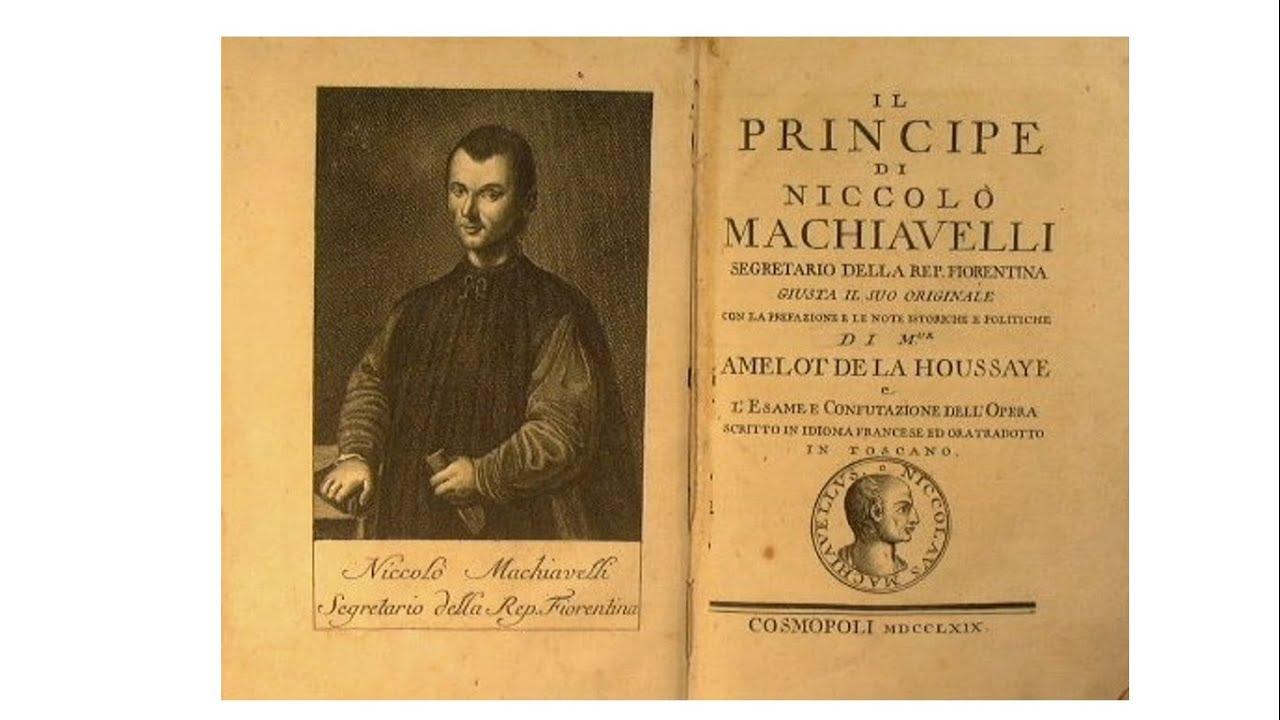 Il Principe di Machiavelli - YouTube