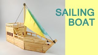 DIY a Boat - From Popsicle Sticks