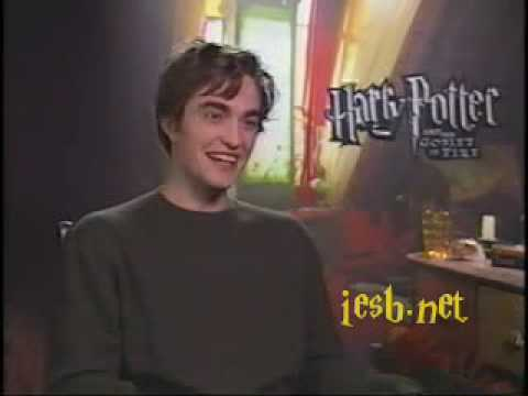 Robert Pattinson - Funny Interview - Harry Potter