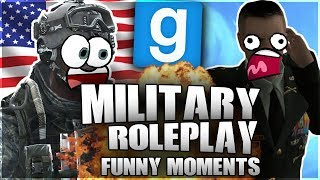 BUNK INSPECTION GONE HILARIOUSLY WRONG! (Gmod: MilitaryRP FUNNY MOMENTS!)
