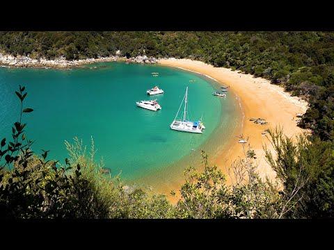 Abel Tasman National Park, New Zealand In 4K Ultra HD