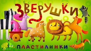 Пластилинки Зверушки 🐴 Все серии подряд  (6-10) 🐻 Премьера на канале Союзмультфильм 2019 HD
