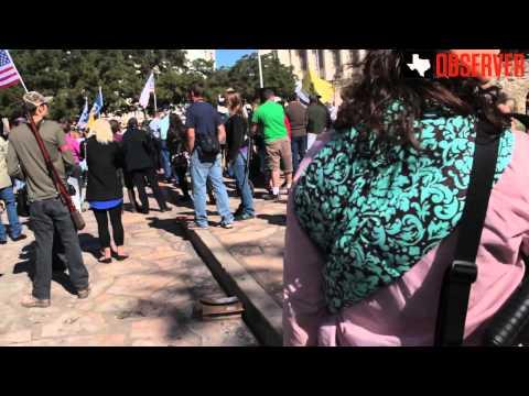 Texas Gun Rally At The Alamo