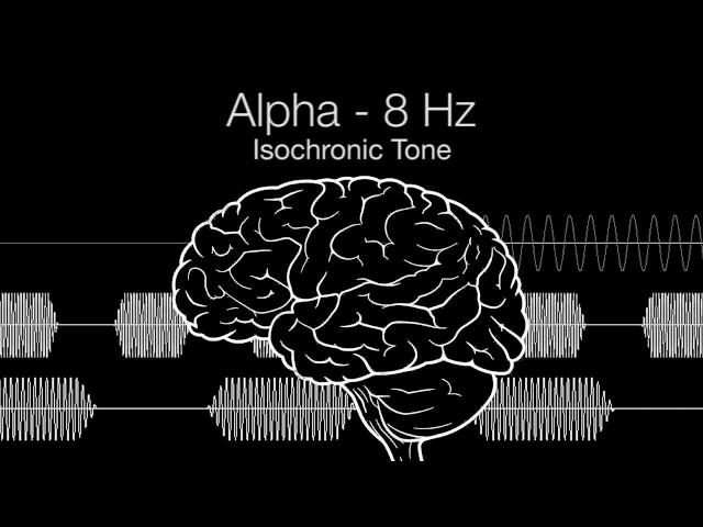 'Meditative Awareness' Alpha Isochronic Tone - 8Hz (1h Pure | 432Hz Base)