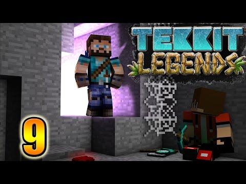 Minecraft| Tekkit Legends| Ep. 9| Solar Power Baby!!!  w/Ter