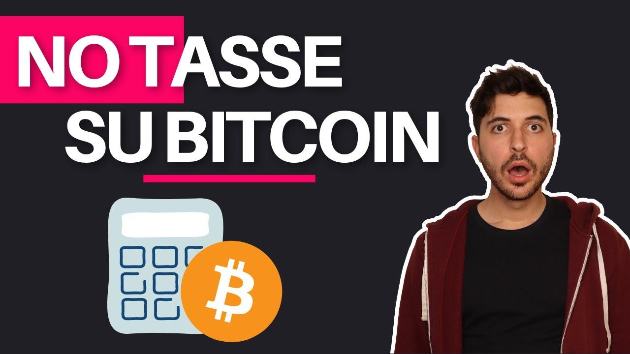 paghi le tasse su bitcoin