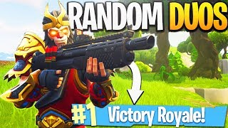 I HAVE TO CLUTCH! - PS4 Pro Fortnite RANDOM DUOS Gameplay!