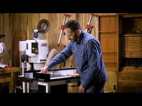 JET Woodworking Router Table