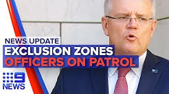 News Update: Further social distancing measures, Police in supermarkets | Nine News Australia