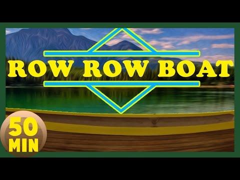 Row row row your Boat - Non Stop Nursery Rhyme