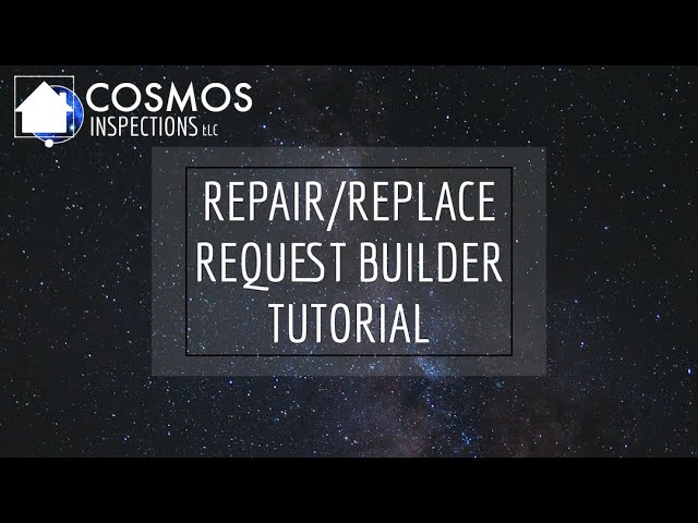 Repair/Replace Request Builder