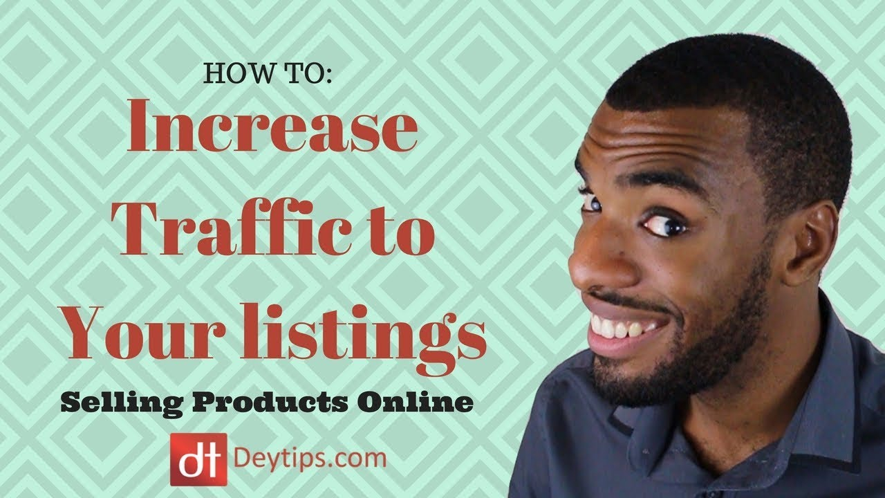 Increasing traffic to amazon and ebay listings