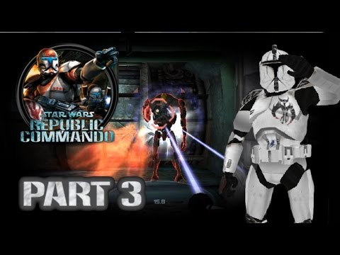 Star Wars Republic Commando (PC) HD: ARC Trooper Mod Walkthrough - Part 3: Geonosis #2