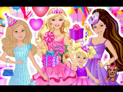 Happy Birthday Cake Barbie Doll🎂Birthday Cake Games🎂How to ...