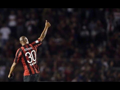 Imperador Adriano Volta ao Futebol Contra o The Strongest - Taça Libertadores - HD 13/2/2014
