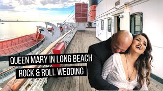 Gorgeous Wedding at the Queen Mary in Long Beach, CA (Couple with tattoos) Mp3