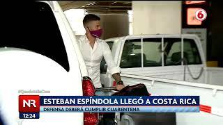 Esteban Espíndola llegó a Costa Rica