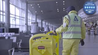 5 Estrellas Skytrax ⭐ I Aeropuerto EL Dorado I Medidas de bioseguridad colaboradores