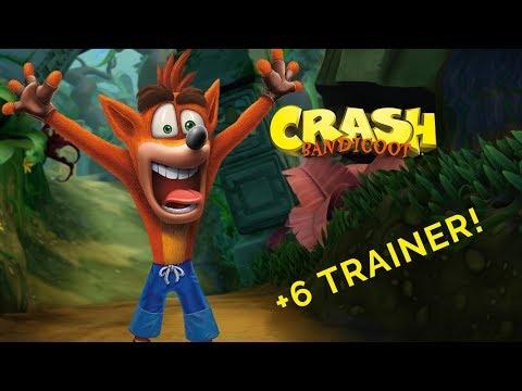 crash bandicoot pc trainer