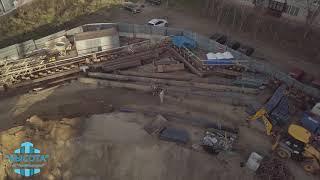Использование квадрокоптера при осмотрах строительных объектов