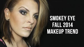FALL 2014 SMOKEY EYE MAKEUP TREND Thumbnail