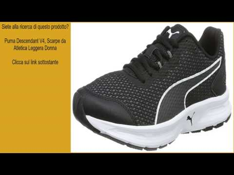 Puma Descendant V4. Scarpe da Atletica Leggera Donna