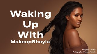 MakeupShayla on Simplifying Her Skincare and Mastering Everyday Glam | Waking Up With | ELLE