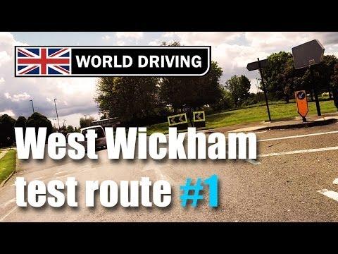 West Wickham driving test route PART 1
