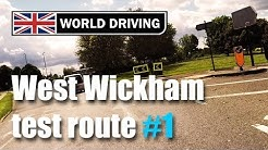 West Wickham Driving Test Route PART 1