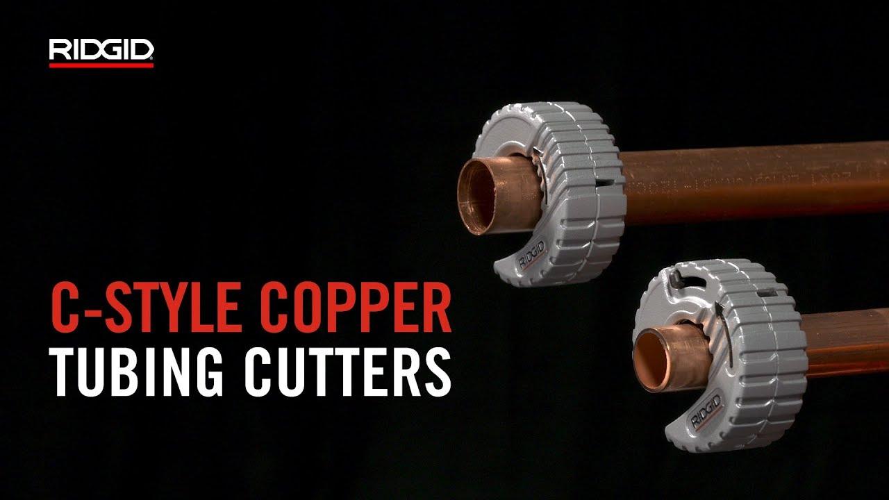 RIDGID C-Style Copper Tubing Cutter