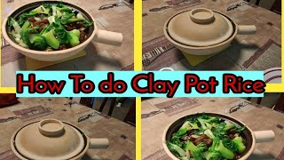 HOW TO MAKE CLAY POT RICE//Malyn Jaromay