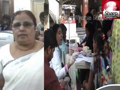 Free health  camp organised by apollo hospital at Shaheen Women's Resource and Welfare Association.